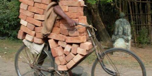 materiais de construção de habitação a preços acessíveis - tijolos
