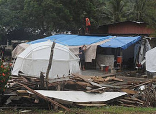 Basic shelter in disaster