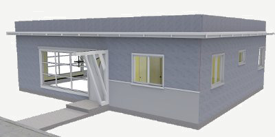 1167 sq ft sip panel house