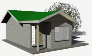 656 sq ft sip Panel Haus