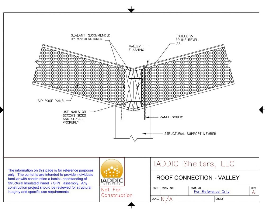 Sip Design Center And Detail Drawings Free Download