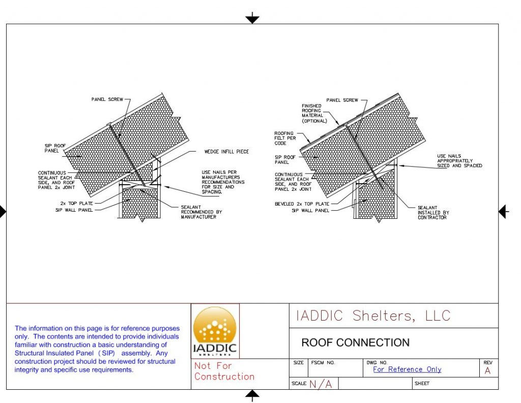 Cad Drawing Roof Sandwich Panels : Sip design center and detail drawings free download