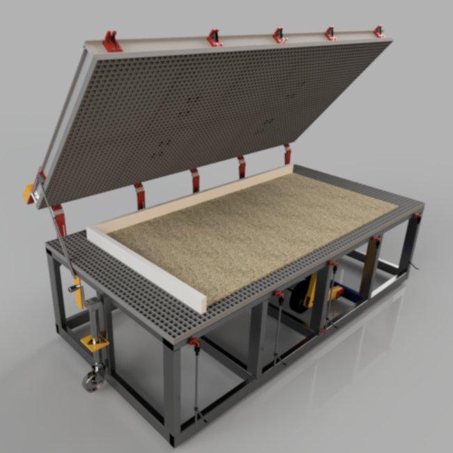 open pbs3000 sip panel press