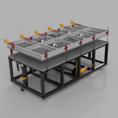 closed pbs3000 SIP panel equipment