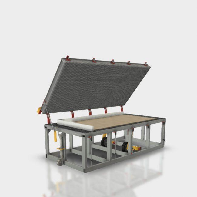 sip panel manufacturing equipment