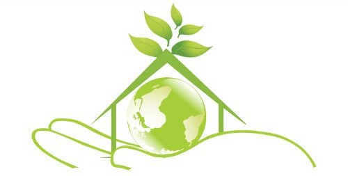eco house on hand
