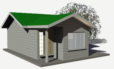 building with SIPs ~ 656 sq ft sip panel house