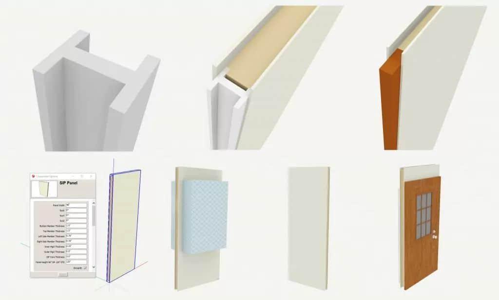 Sketchup design files