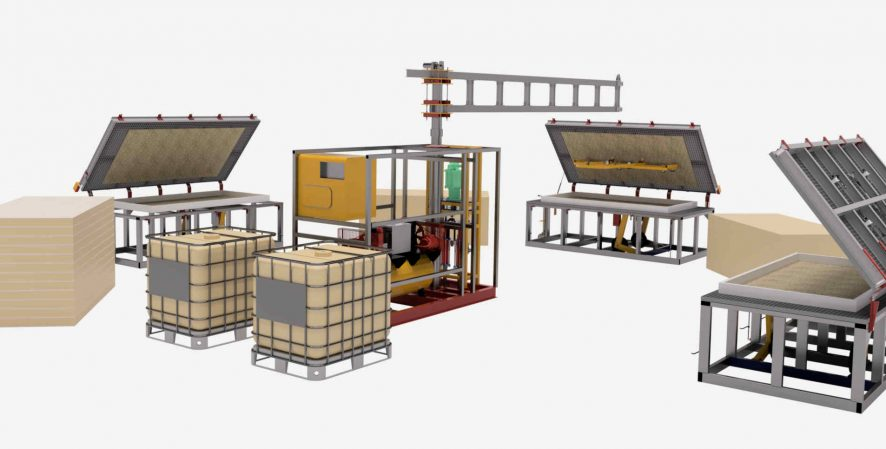 sip panel equipment work center